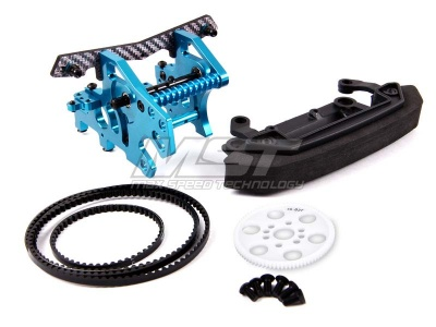 210178 Front motor mount conversion kit-1 Colore: Silver