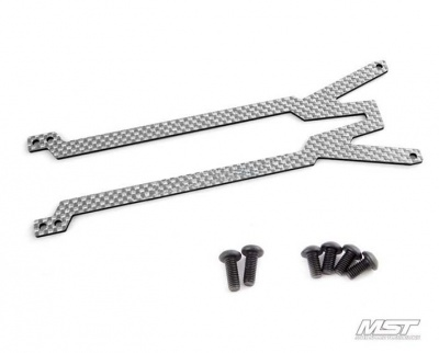 210252 MS Carbon rear damper stay 2.0 (SSG)