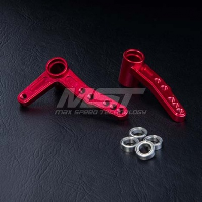 210336 FXX Alum. steering arm set Colore: Silver