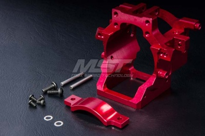 210340 FXX Alum. motor mount set Colore: Silver
