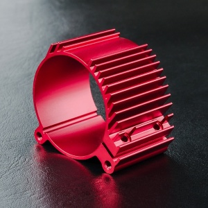 310063 FSX-RRX Alum. motor mount Colore: Red