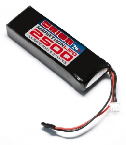 BATTERIA RX MARATHON LIPO 2500 - 7.4V TEAM ORION (STD)