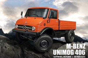 CMX 1/10 4WD High Performance Off-Road Car KIT RTR - M-BENZ Unimog 406