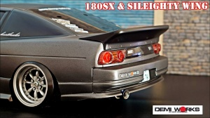 Ducktail Rear Wings Nissan 180SX and SILEIGHTY