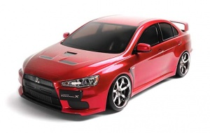 MS01-D S RTR BRUSHED EVO X - Red