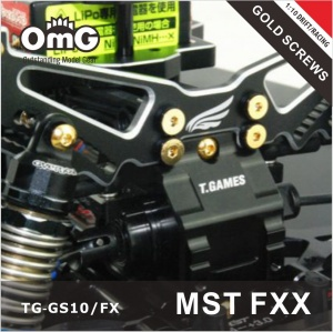 MST FXX GOLD SCREWS