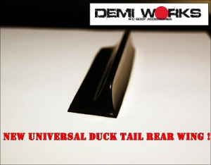 New Universal Duck Tail Rear Wing