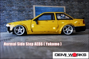 Normal Side Step AE86 (Levin coupè)