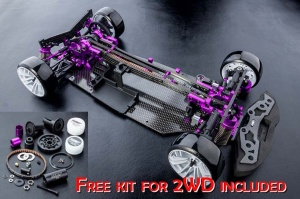 RMX-D VIP 4WD PROMO + KIT 2WD Colore: Purple