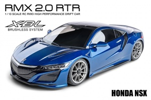 RMX 2.0 1/10 Scale 2WD RTR Drift Car (brushless) - HONDA NSX BLUE