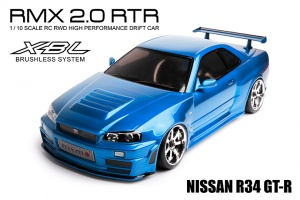 RMX 2.0 - 2WD RTR Drift Car (brushless) - NISSAN GT-R R34
