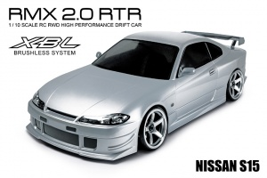 RMX 2.0 - 2WD RTR Drift Car (brushless) - NISSAN SILVIA S15