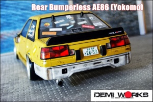 Rear Bumperless AE86 (Yokomo/R2)