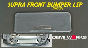 Toyota Supra Wide Body Parts -DWSUPL (Front Bumper Lip)