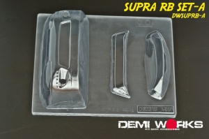 Toyota Supra Wide Body Parts DWSUPRB-A (contains Trunk Wing + Roof Spoiler + Front Bumper)