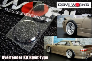 Universal Overfender Kit Rivet Type