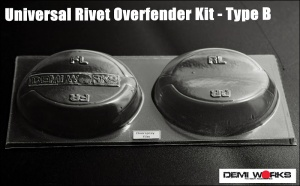 Universal Overfender Kit Rivet Type B