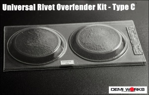 Universal Overfender Kit Rivet Type C