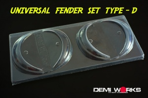 Universal Overfender Kit Rivet Type D
