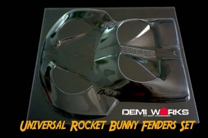 Universal Rocket Bunny Fenders Set