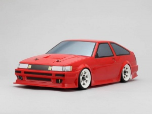 Yokomo SD-86LB - Drift Body Toyota AE86 Levin - Hayashi (Graphic / Decal Less)