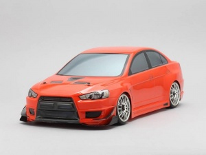 Yokomo SD-EVXB - Drift Body Mitsubishi Lancer Evo X - Yukes / Cusco (Graphic / Decal Less)