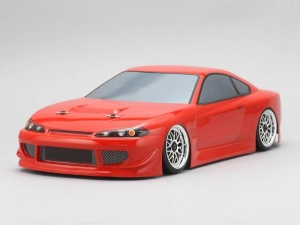 Yokomo SD-HKSB - Drift Body Nissan Silvia S15 - HKS Hiper (Graphic / Decal Less)