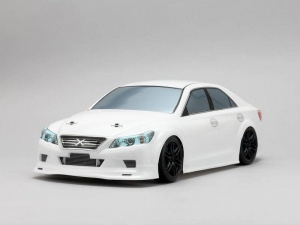 Yokomo SD-MKXB - Drift Body Toyota Mark X - Goodyear Racing (Graphic / Decal Less)